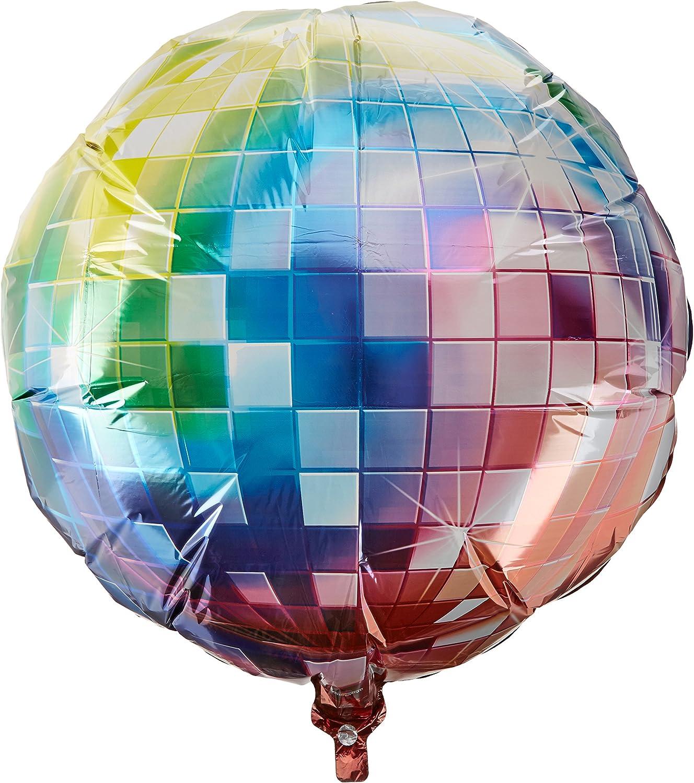 "11/"" Neon Disco Latex Balloons Helium Quality Qualatex 70s Party Decorations Fun"