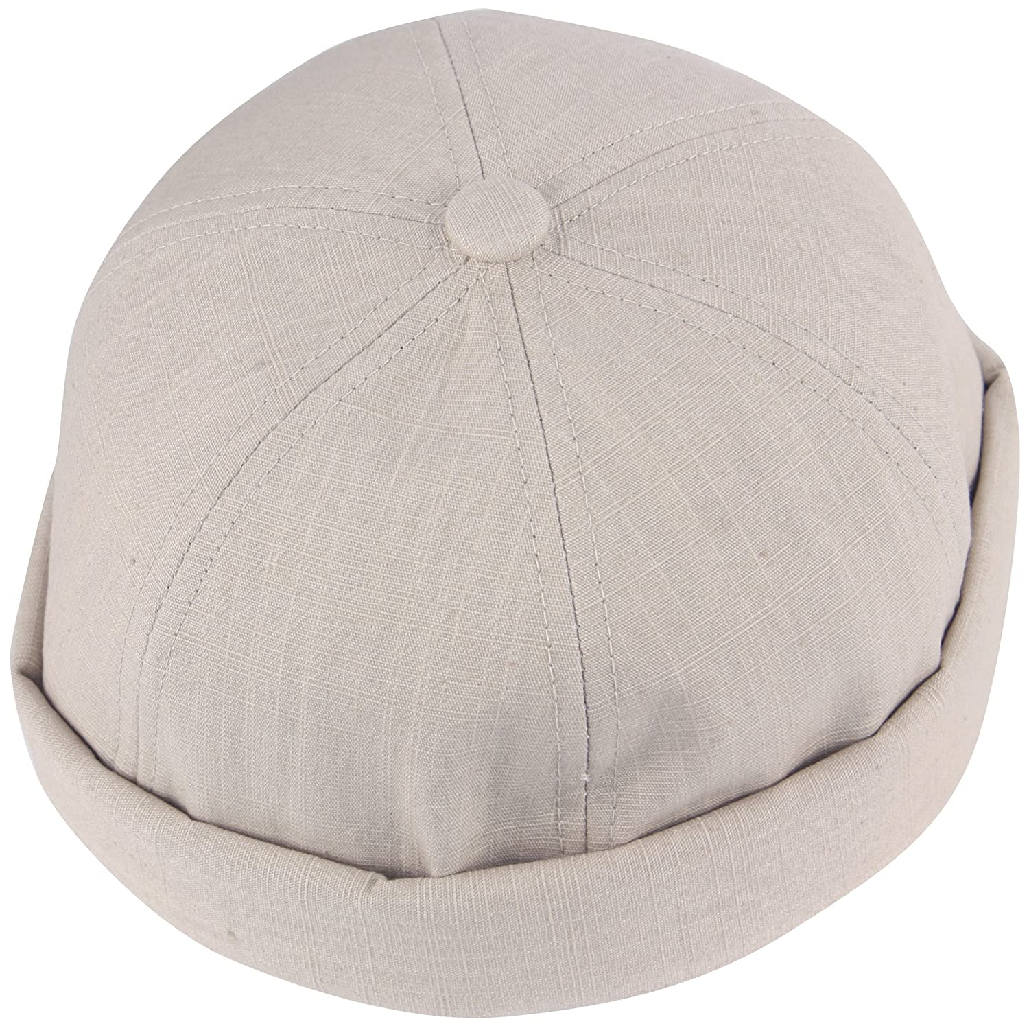 dac8593decabd RaOn B408 Watch Cap Beanie Style Empty Plain No Bill Fashion Baseball Hat  Truckers (Beige) at Amazon Men s Clothing store
