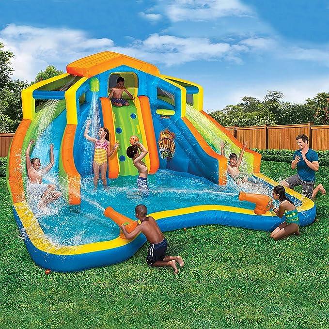 Amazon.com: Parque acuático inflable Adventure Club ...