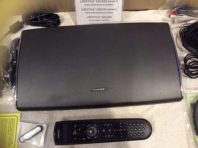 Amazon.com: Bose Lifestyle V25 & V35 AV35 Control Console Base Receiver Media Center: Electronics