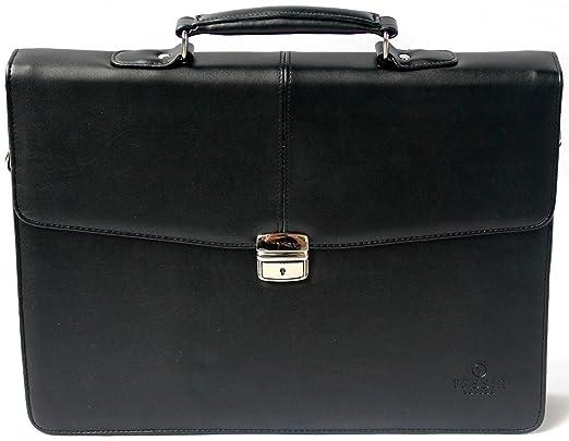 """2 opinioni per Tassia- valigetta ventiquattrore per laptop 16""""- con tracolla- finta pelle"""