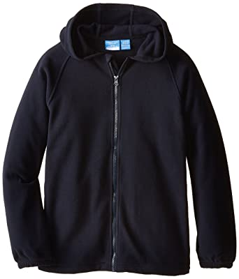 Amazon.com: Nautica Little Boys' Uniform Fleece Jacket with Hood ...