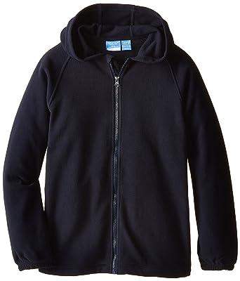 Amazon.com: Nautica Little Boys' Uniform Fleece Jacket with Hood ...