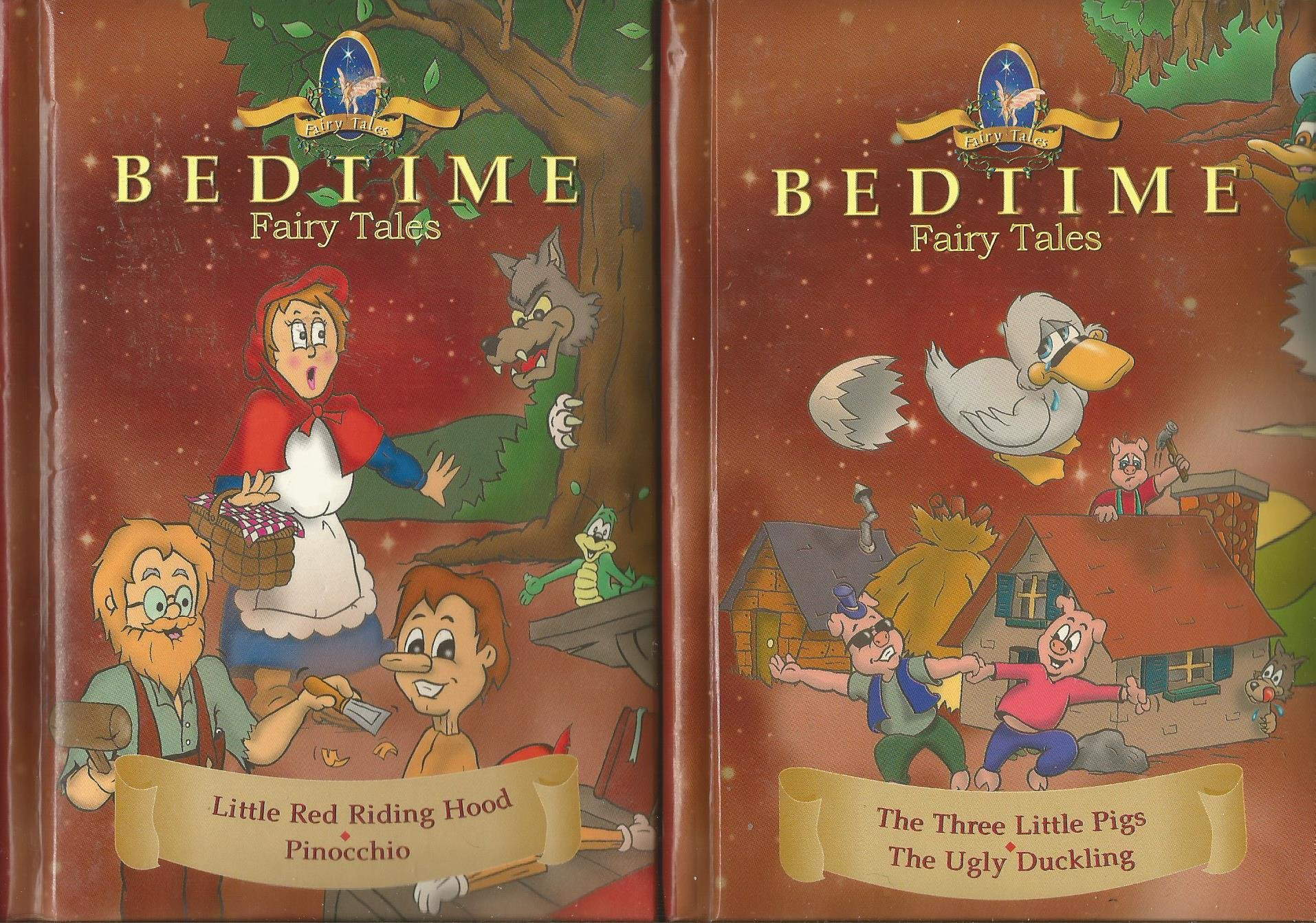 Bedtime Fairy Tales... Little Red Riding Hood..Pinocchio (Bedtime fairy tales, volume 2) PDF