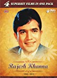 Rajesh Khanna - 4 Superhit Films in One Pack (Hathi Mere Saathi, Mere Jeewan Saathi, Namak Haram, Swarg)