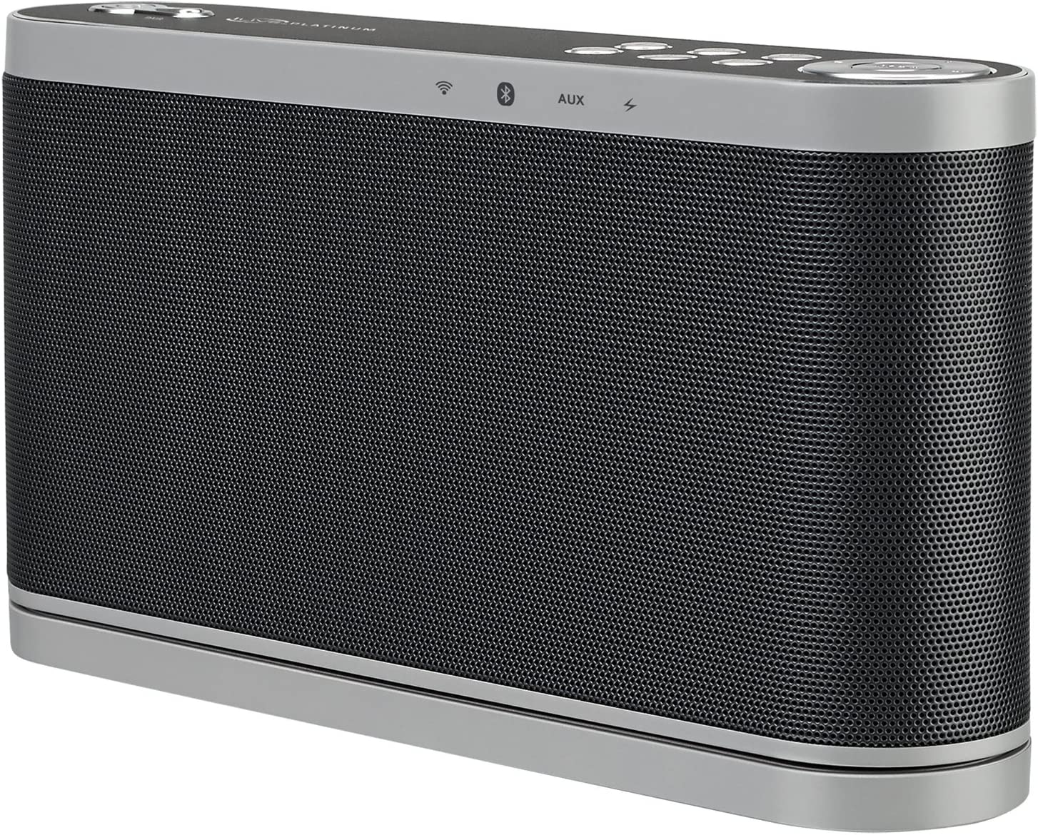 iLive (ISWF576B) Wireless Multi-Room Wi-Fi Speaker, Rechargeable Lithium Ion Battery, Black