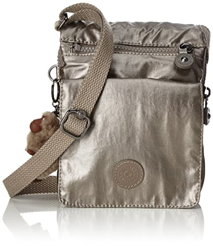 Image Unavailable. Image not available for. Color  Kipling Women s Eldorado Cross-Body  Bag One Size Metallic Pewter 0feebd1169