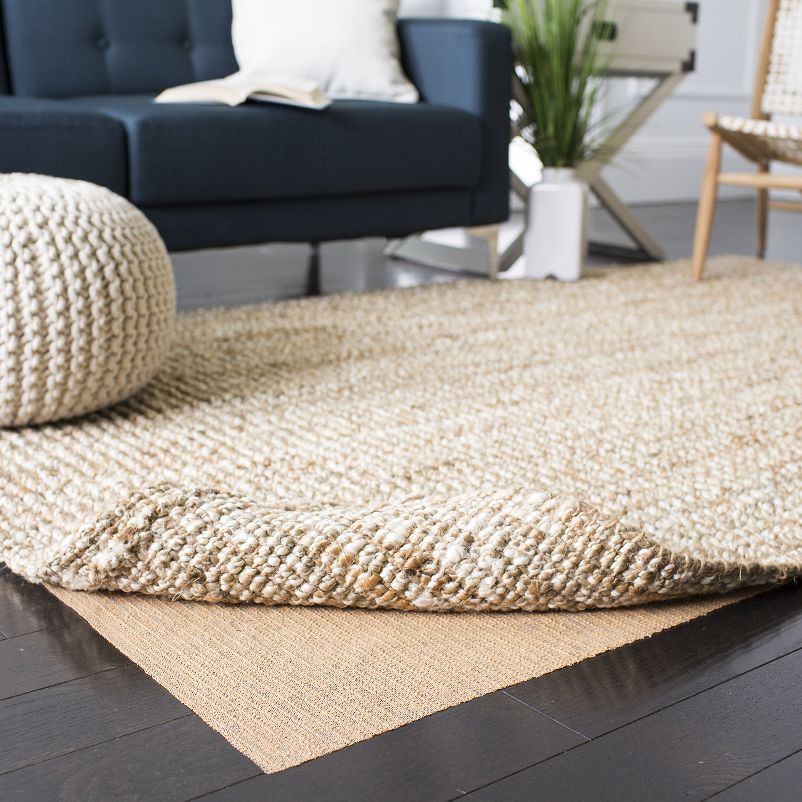 Safavieh Padding Collection PAD120 Beige Area Rug, 8 feet by 10 feet (8' x 10')