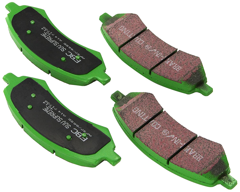 EBC Brakes DP71738 7000 Series Greenstuff SUV Supreme Compound Brake Pad