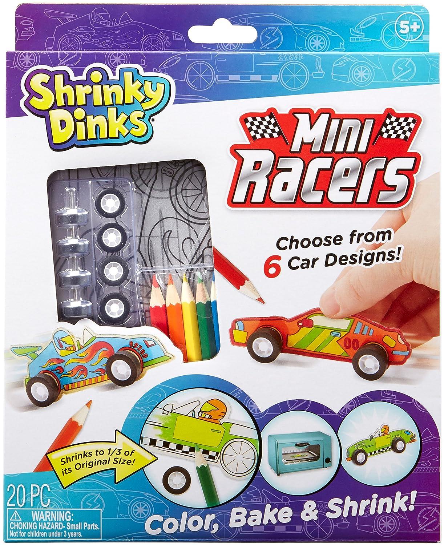 Shrinky Dinks 580140-1 Mini Racers Activity Set