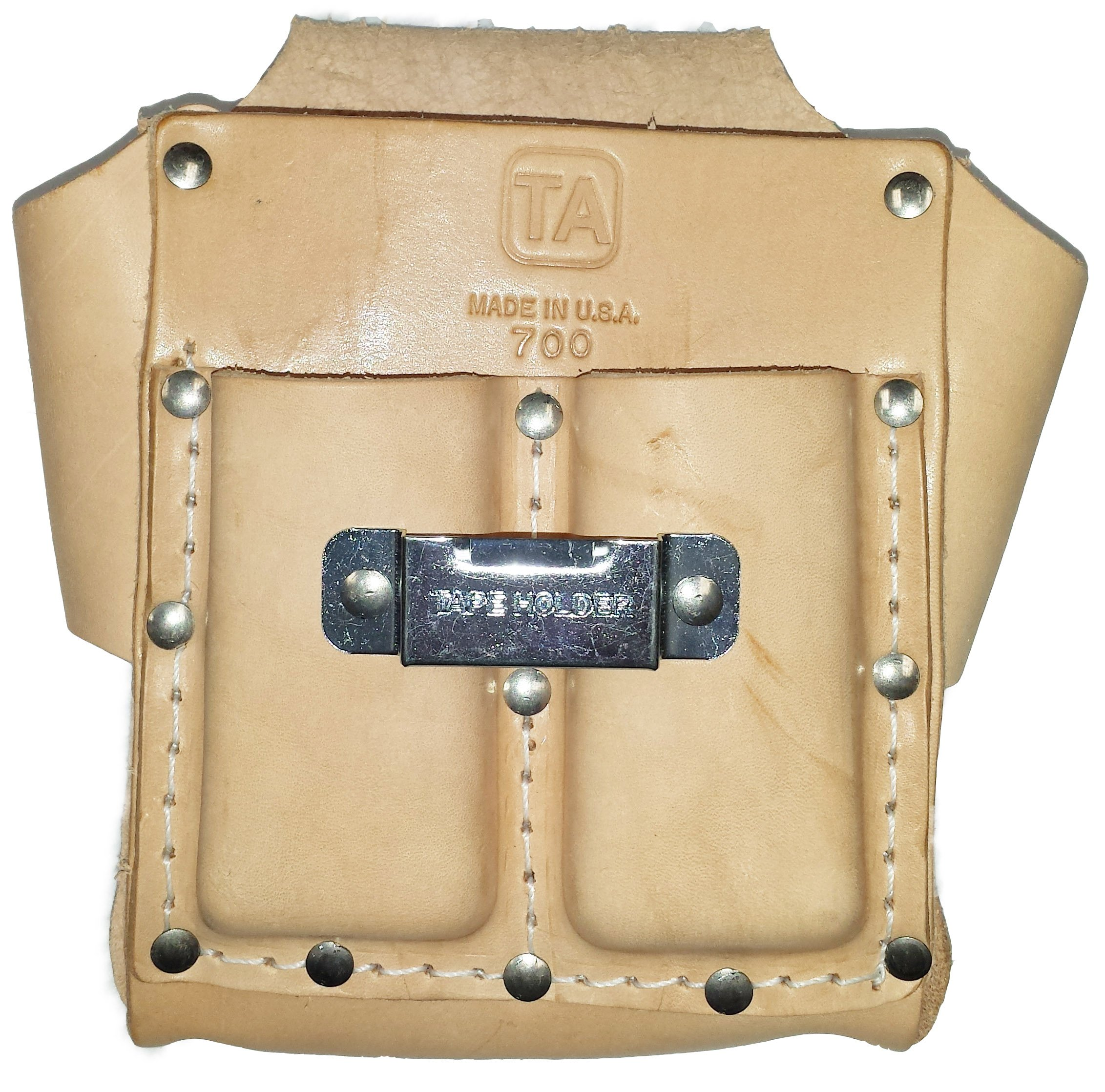 TA700, 3-Pocket Box-Shape Tool Pouch, Made in USA