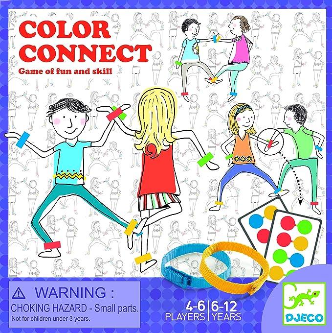 DJECO- Juegos de acción y reflejosJuegos educativosDJECOJuego Quadricolor, Multicolor (15): Amazon.es: Juguetes y juegos