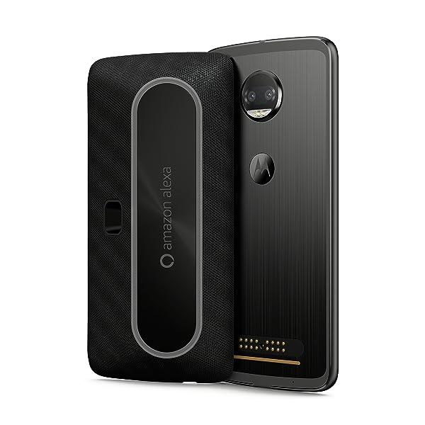 Motorola Smart Speaker with Amazon Alexa for Moto Z, Moto Z Play, Moto Z2 Force (Color: Alexa)