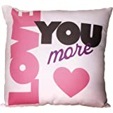 Spoontiques Love You More Pillow