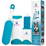 Pet Hair Remover brush - dog hair remover - lint brush pet hair remover for couch - reusable fur remover for furniture…