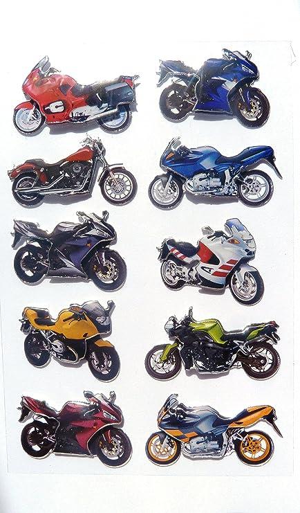 Amazon.com: Minilabel moto, motocicleta, scooter pegatinas ...