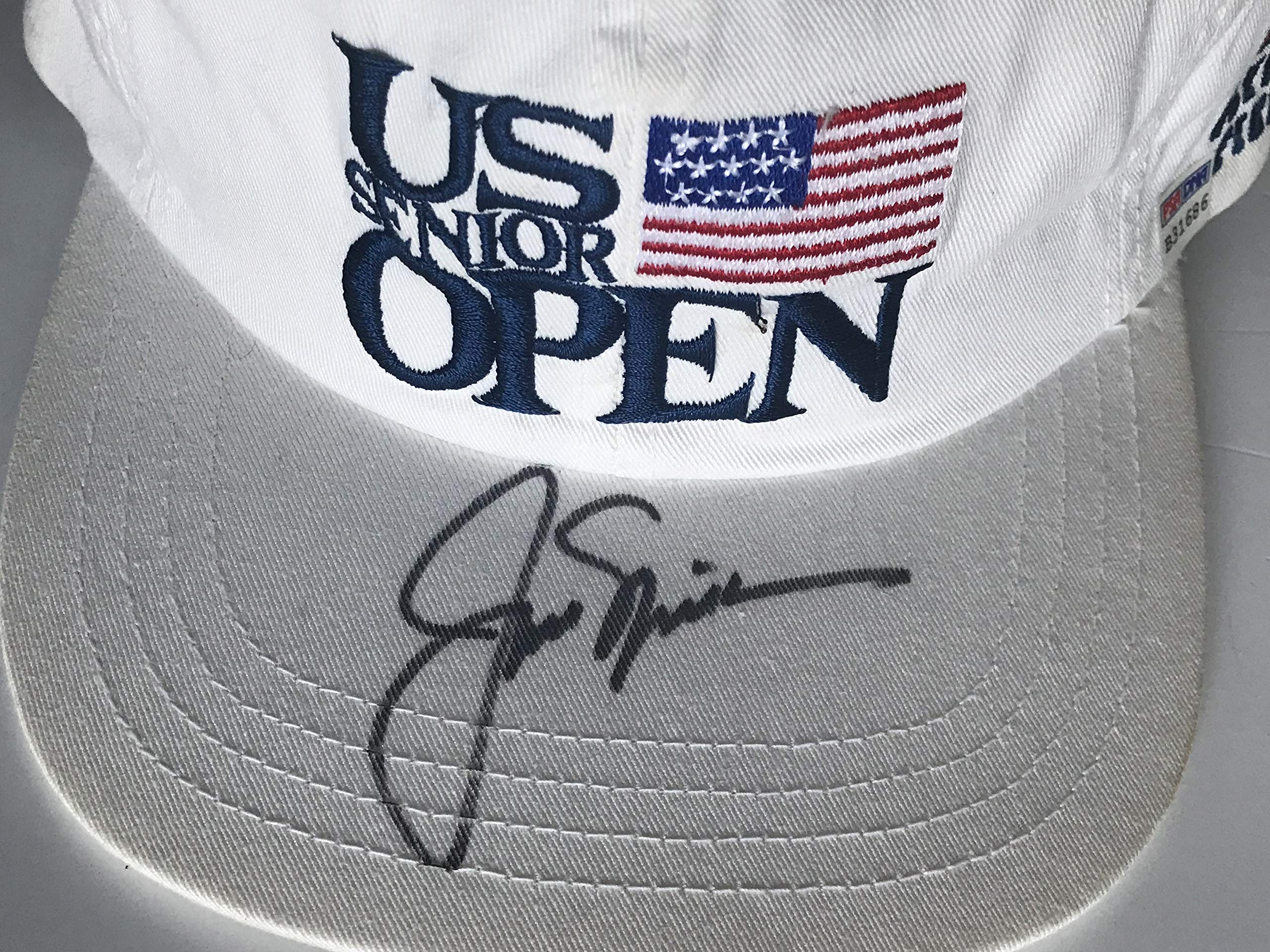Jack Nicklaus signed golf hat u.s. senior open olympia fields psa dna