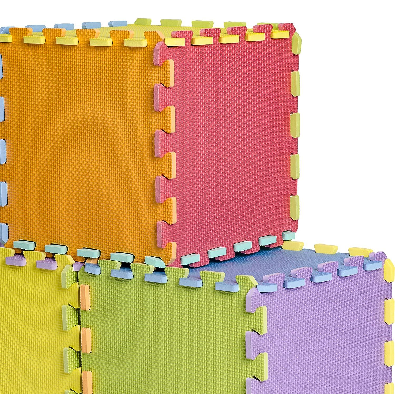Best Price Amazon 9 Tile Multi Color Solid Foam Eva