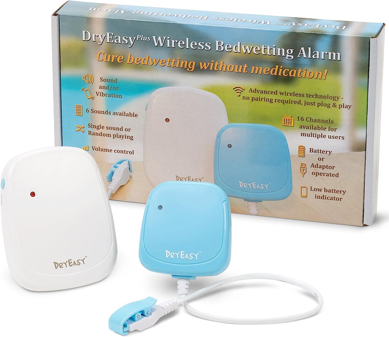 Kaemma azul Multi-modos 3 en 1 Enuresis para mojar la cama Alarma Sistema eficaz de tratamiento de mojado de la cama Control de minicomputadora Dispositivo de entrenamiento para ir al ba/ño