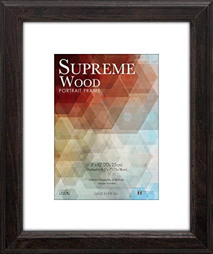 Amazon.com: Timeless Frames 12x16 Inch Fits 9x12 Inch Photo Supreme ...