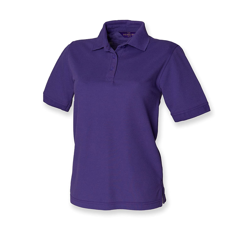 Henbury Womens/Ladies Pique Polo para hombre
