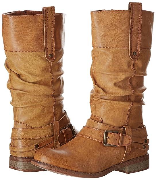 Rieker 95672 Damen Langschaft Stiefel
