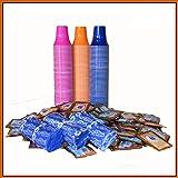 I0018 kit 150 borbone 150 bustine zucchero 150 palette 150 bicchierini colorati caffe