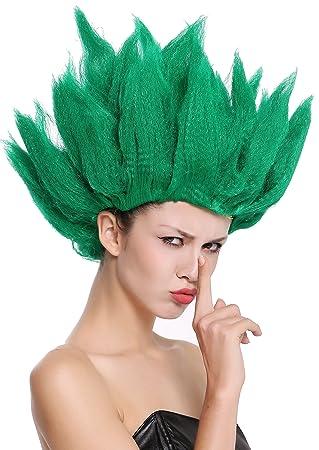 WIG ME UP ® - 91062-PC18 Peluca Hombres Mujeres Carnaval Halloween Cosplay Loki Flor