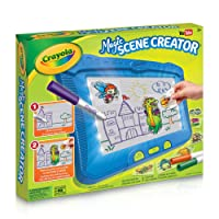 Crayola Magic Scene Creator, Drawing Kit for Kids, Creative Toys, Gift for Boys and Girls, Kids, Ages 3, 4, 5, 6,7 and Up, Holiday Toys, Arts and Crafts