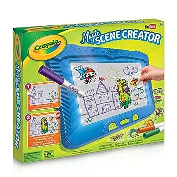 Crayola Magic Scene Creator Drawing Kit For Kids Creative Toys