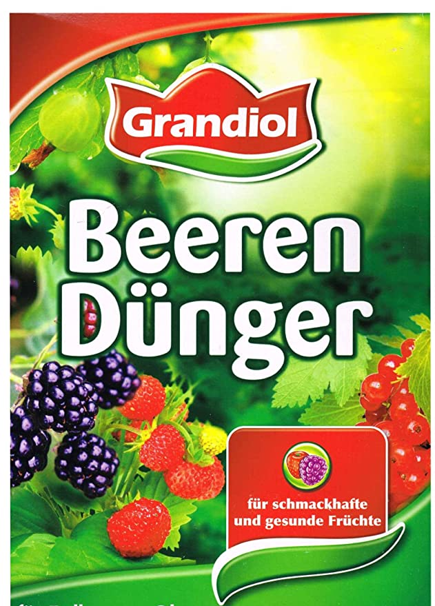 Grandiol Abono orgánico para bayas, de minerales, 2, 5 kg, con magnesio: Amazon.es: Jardín