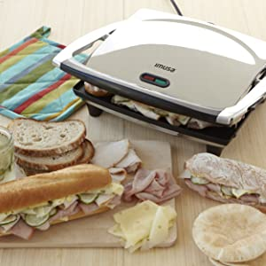 Imusa USA electric Panini Press