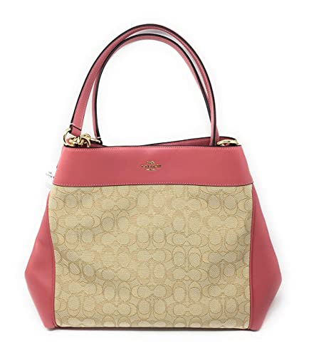 Image Unavailable. Image not available for. Color  COACH F27579 LEXY SHOULDER  BAG IN SIGNATURE JACQUARD PEONY 5f0dfc46693e1