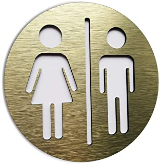 Wheelchair Restroom vinyl Sticker Door Bathroom Sign Men Women Art Decal 137