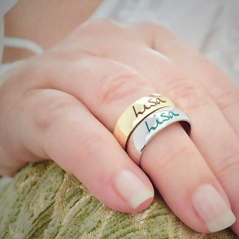 3mm 9K or 18K Real Solid Gold Wedding Band  Yellow or Rose Gold  Plain Half Round  D-Shape Wedding Ring  Engagement  Samandar