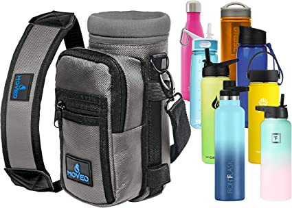 Insulated Carrier Holder for Outdoor Activities 2 Packs 32//40 oz Neoprene Water Bottle Holder Water Bottle Sleeve Carrier Bag Pouch Cover with Shoulder Strap Pouch Pocket Carrying Handle
