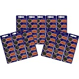 55pc SONY 2025 CR2025 3V Lithium Coin Battery (55 Batteries)