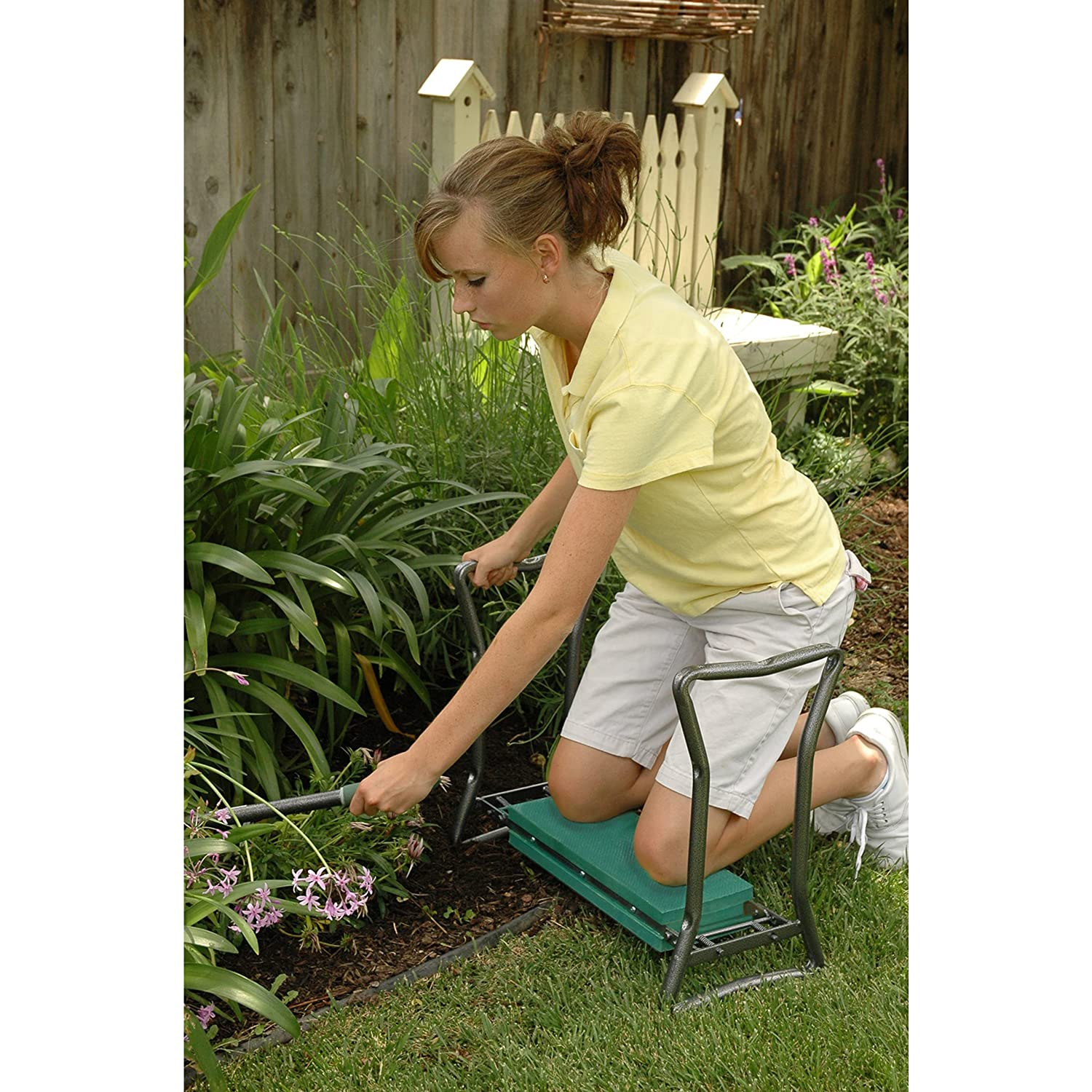 Amazon.com : Yard Butler GKS 2 Garden Kneeler And Seat (Older Model) :  Outdoor And Patio Furniture : Garden U0026 Outdoor