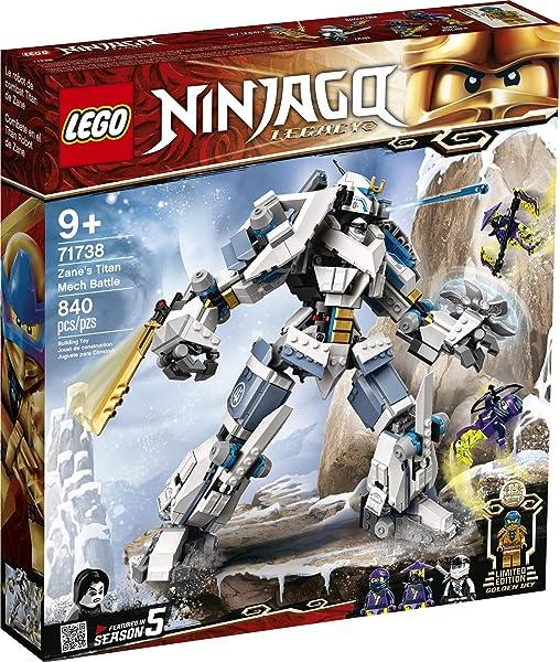 LEGO NINJAGO Legacy Zane's Titan Mech Battle