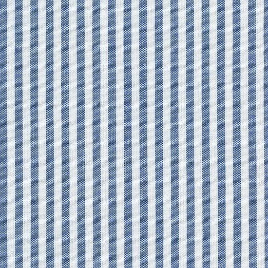Tela azul marino y blanco - raya marina - 100% algodón suave | ancho: 150 cm (por metro lineal)*: Amazon.es: Hogar