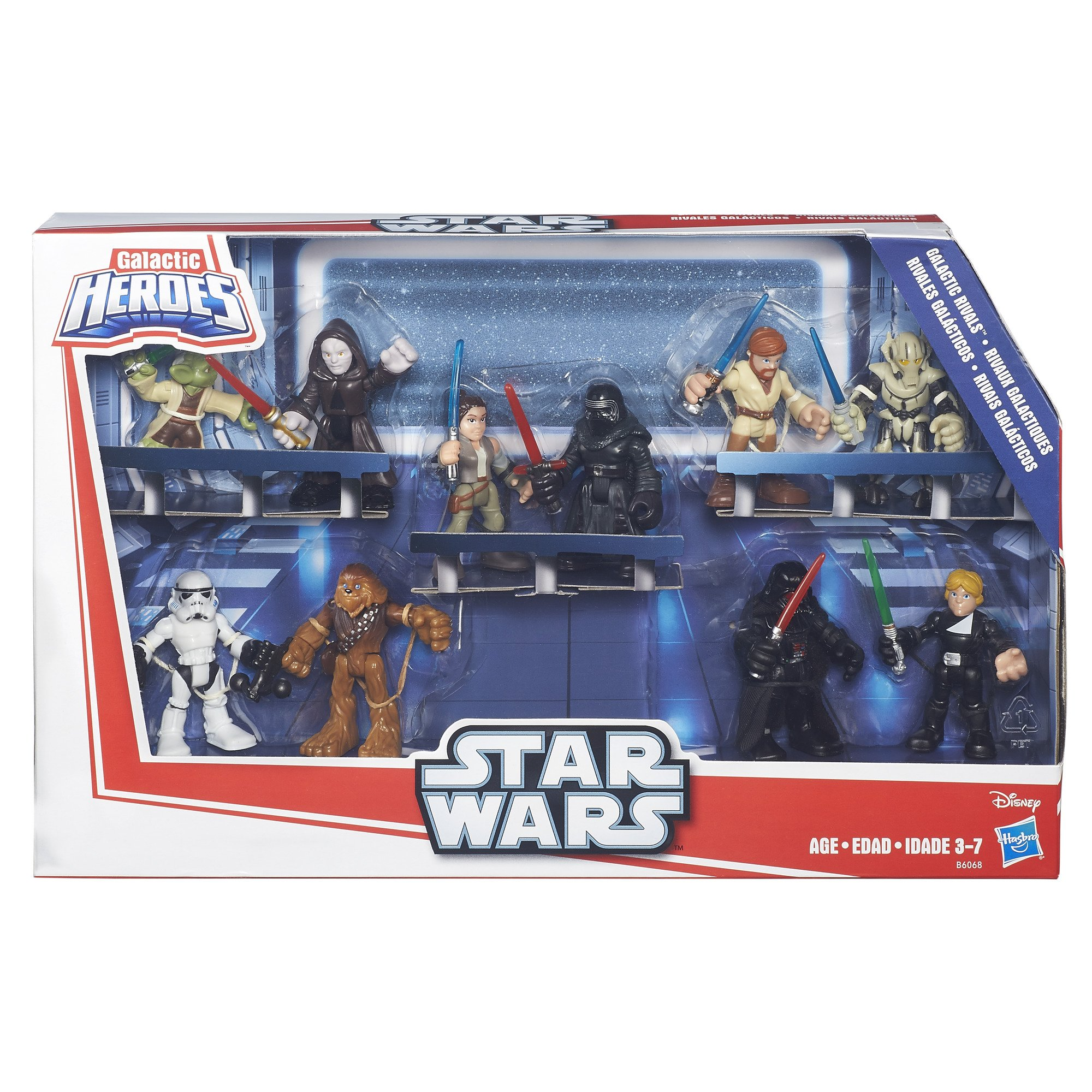 Star Wars Galactic Heroes Galactic Rivals Action Figure by Star Wars (Image #2)