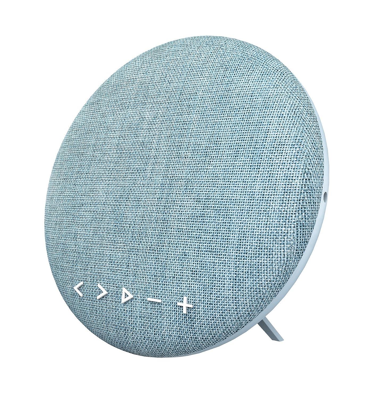Soundance 12W Estéreo inalámbrico Estéreo Bluetooth Altavoz Conector de Audio, hasta 10 Horas de reproducción 15m Bluetooth Range, Compatible con Tarjeta TF/Micro SD, Azul