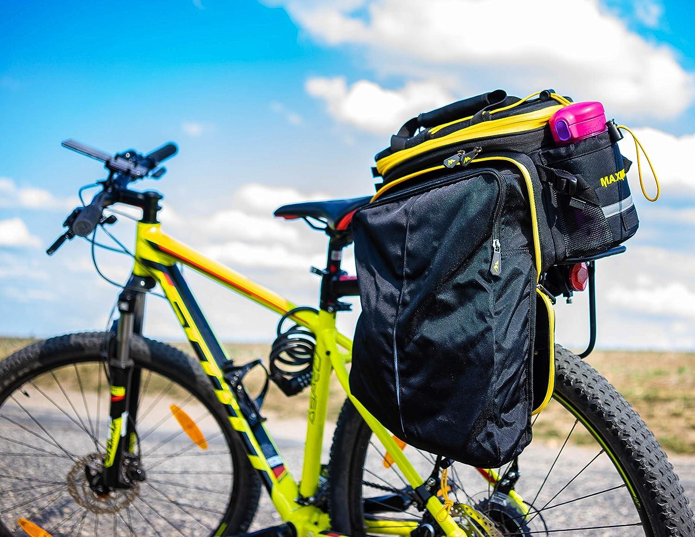 Amazon.com: CoolChange Expedition bicicleta bolsa Pannier ...