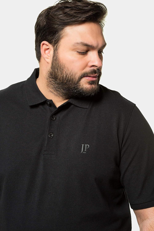 T-Shirt 712617 JP 1880 Herren gro/ße Gr/ö/ßen bis 8XL Poloshir Piqu/é Bauchshirt JP1880-Brustdruck