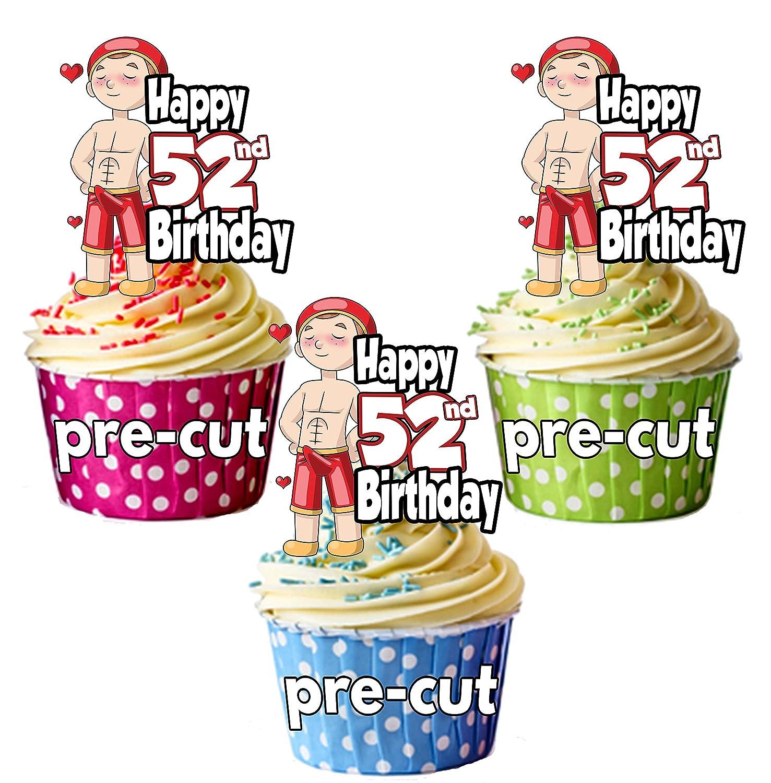 Prime Precut Funny Lover Boy Stud Sexy Man Mens 52Nd Birthday Funny Birthday Cards Online Elaedamsfinfo