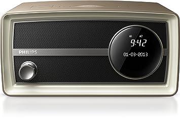 Philips Minir - Radio (Digital, Dab+,FM, 87,5-108 MHz, 174,9-239,2 MHz, Sintonización automática, LCD)