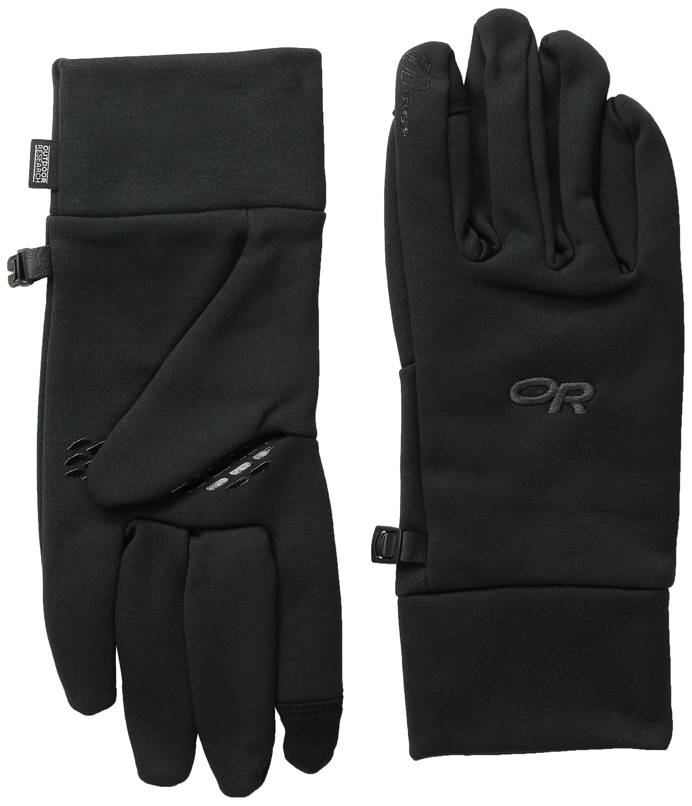 Outdoor Research Men's PL100 Sensor Gloves, Black, X-Large
