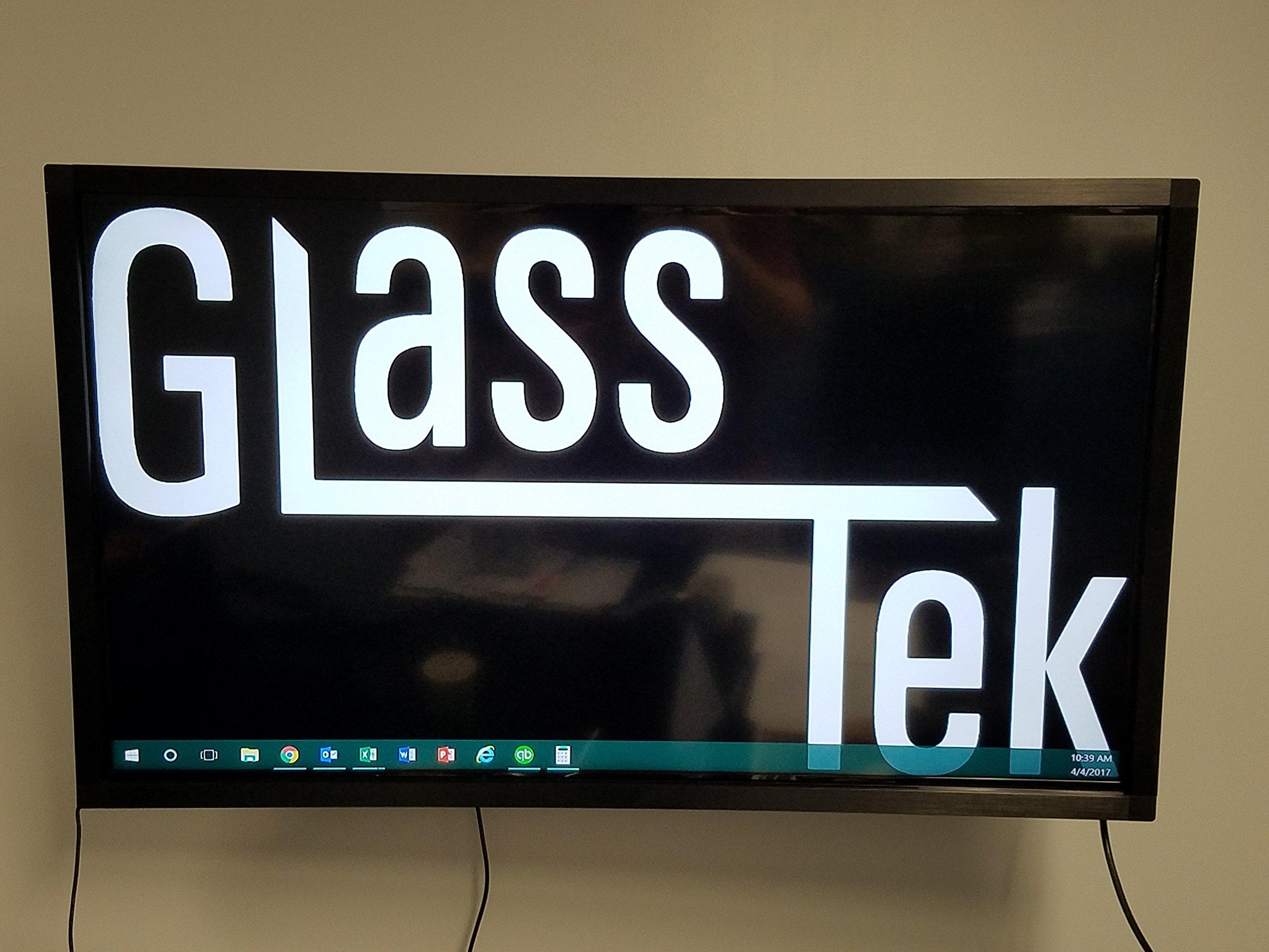 6 Touch Point 75'' IR Touch Screen Frame Overlay by GlassTek Inc. (75'') by GlassTek
