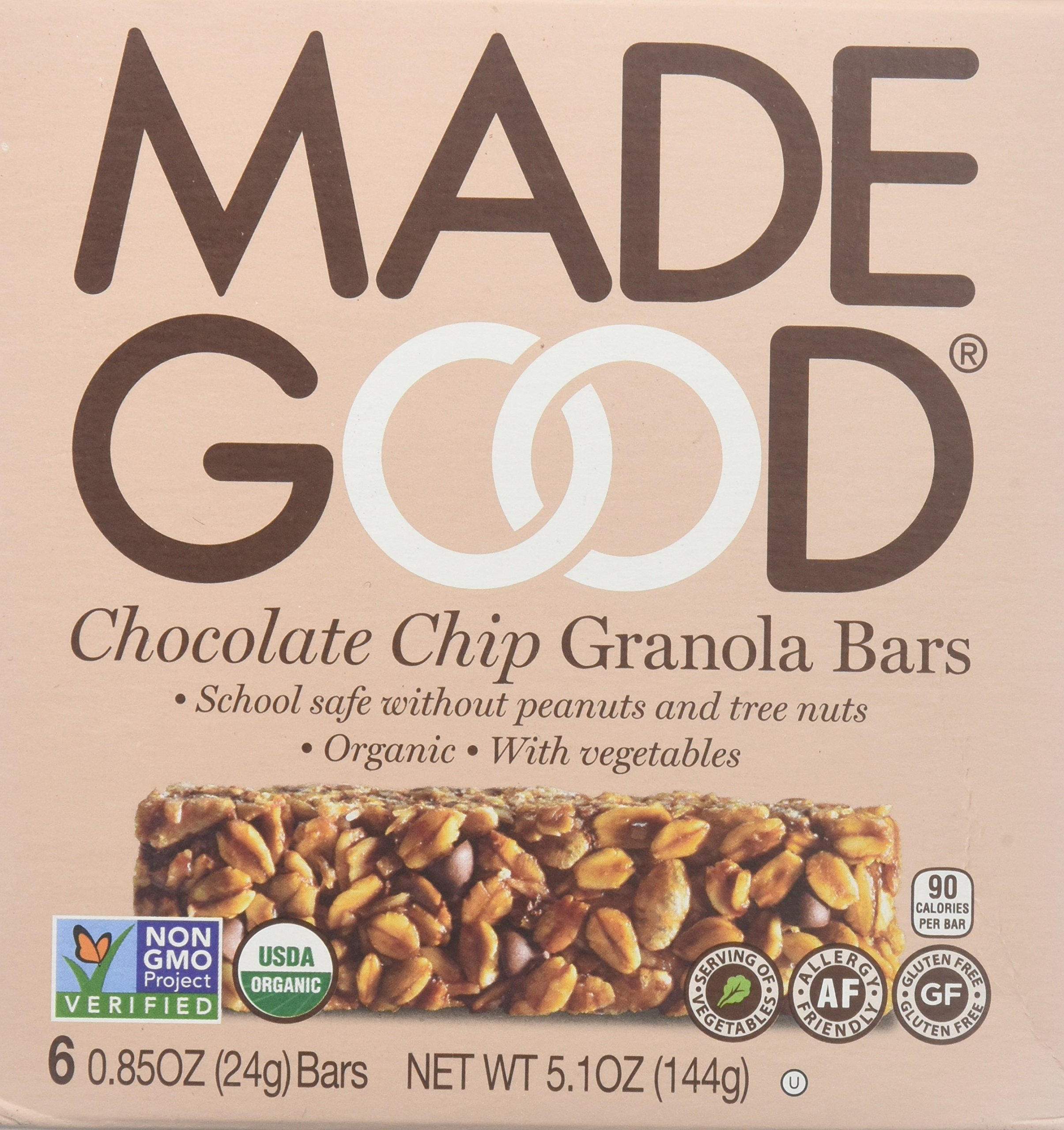 Amazoncom Made Good Granola Bar Mixed Berry 24 Gram Pack Of 6