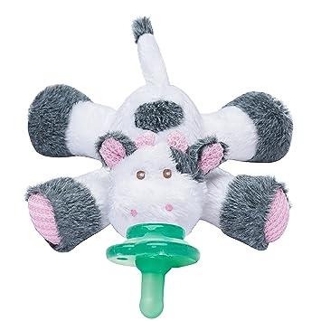Amazon.com: nookums paci-plushies Vaca – Soporte de chupete ...